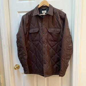 Timberland brown puffer quilted coat Regular fit